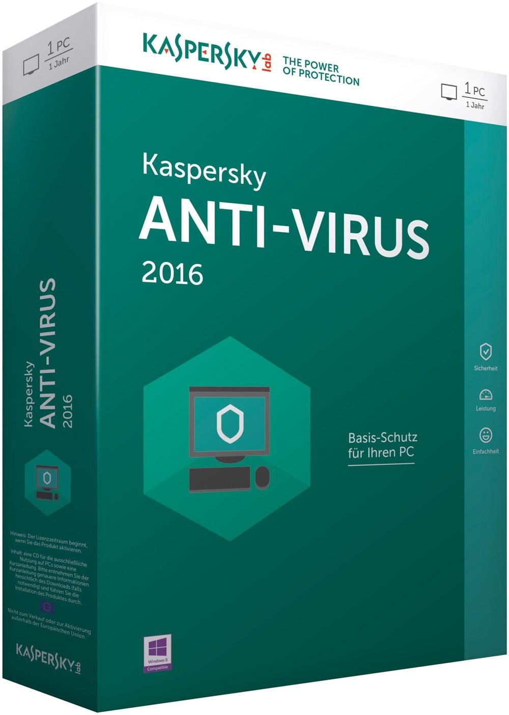 Антивирус Kaspersky.lab